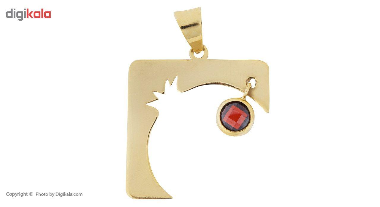 آویز گردنبند طلا 18 عیار ماهک مدل MM0598 - مایا ماهک -  - 2