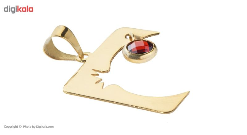 آویز گردنبند طلا 18 عیار ماهک مدل MM0598