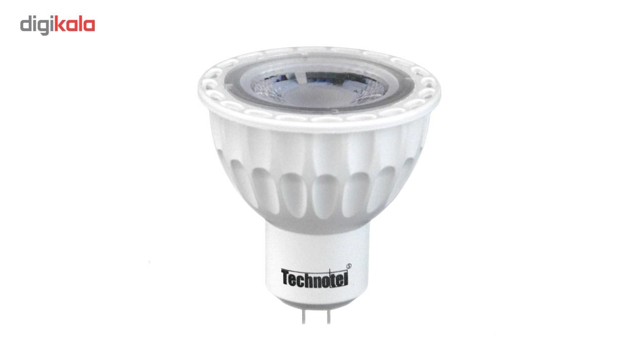 لامپ ال ای دی 7 وات تکنوتل مدل 1807 پایه GU5.3 main 1 1