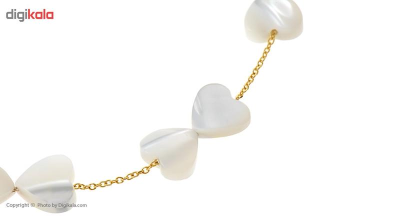 دستبند طلا 18 عیار ماهک مدل MB0177 - مایا ماهک