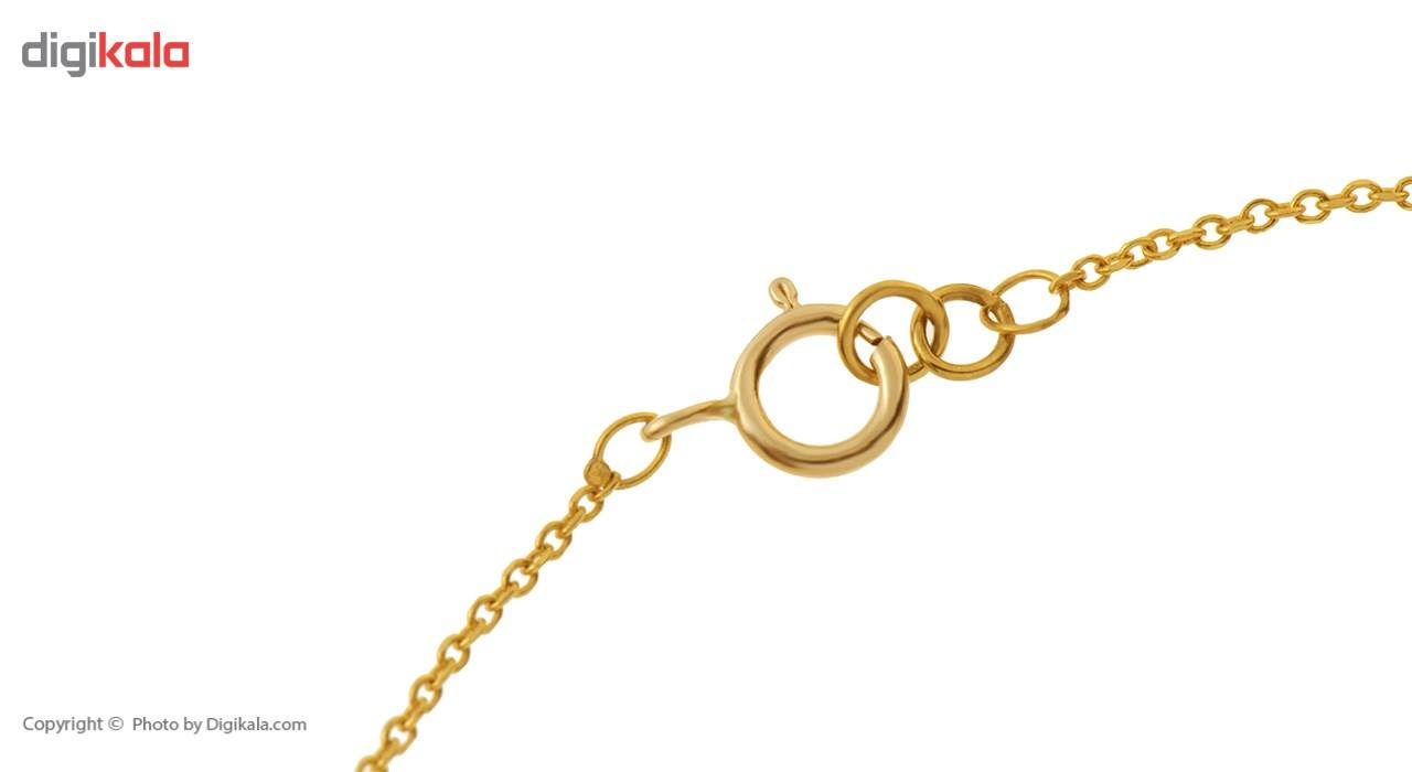 دستبند طلا 18 عیار ماهک مدل MB0177 - مایا ماهک -  - 1