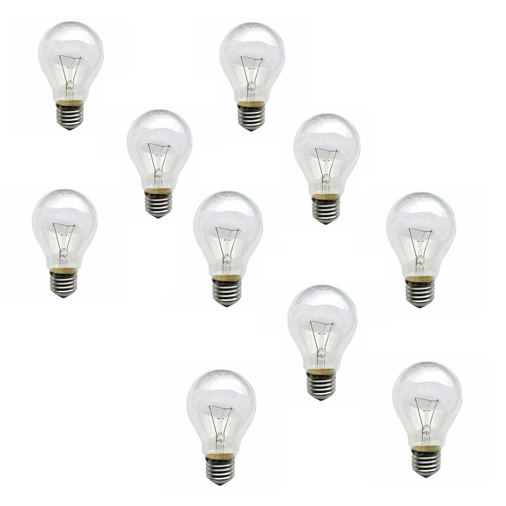 لامپ 200 وات لامپ پارس مدل AN02 پایه E27 بسته 10 عددی