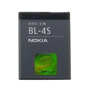 باتری موبایل مناسب برای نوکیا مدل BL-4S با ظرفیت 860 میلی آمپر ساعت