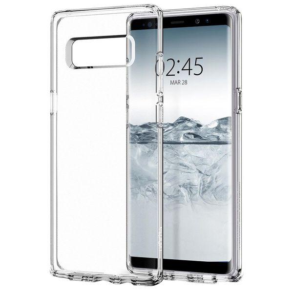 کاور اسپیگن مدل Liquid Crystal Glitter مناسب برای گوشی موبایل سامسونگ Galaxy Note 8
