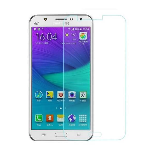محافظ صفحه نمایش شیشه ای مدل Tempered مناسب برای گوشی موبایل سامسونگ Galaxy J7