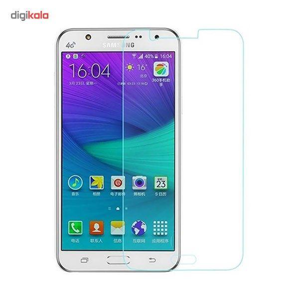 محافظ صفحه نمایش شیشه ای مدل Tempered مناسب برای گوشی موبایل سامسونگ Galaxy J7 main 1 1