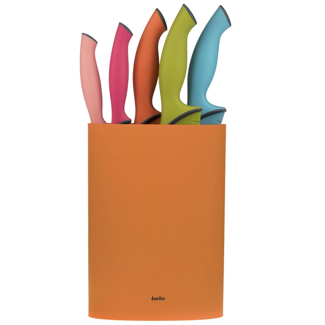 ست چاقوی 6 پارچه باریکو مدل Rainbow
