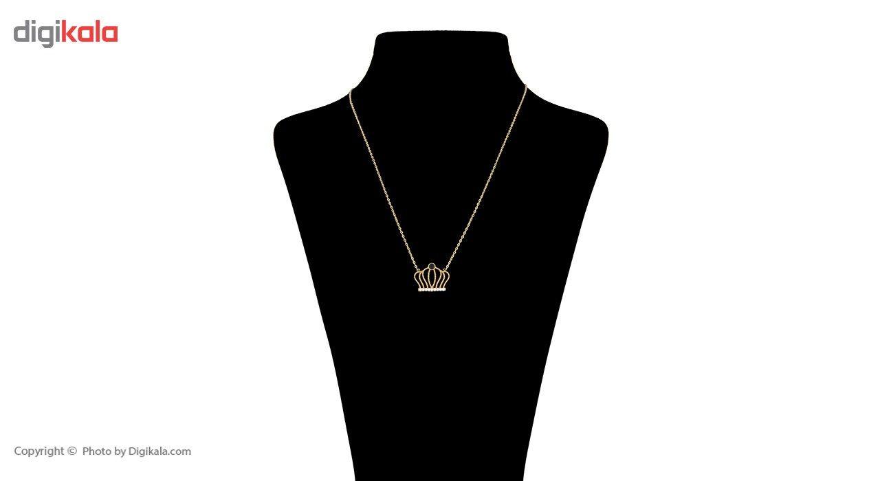 گردنبند طلا 18 عیار ماهک مدل MM0498 - مایا ماهک -  - 2