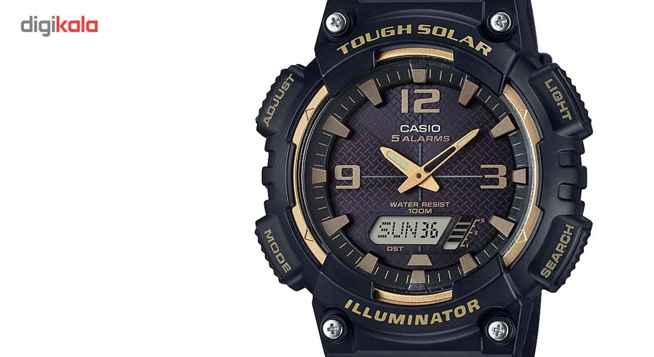 ساعت مچی عقربه ای مردانه کاسیو مدل AQ-S810W-1A3VDF