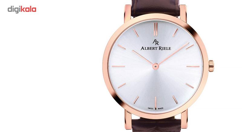 ساعت مچی عقربه ای زنانه آلبرت ریله مدل 018LQ19-SP33I-LN