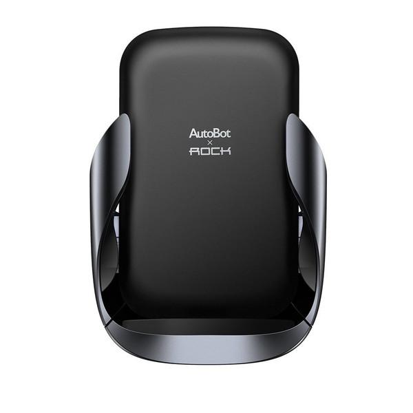 پایه نگهدارنده و شارژر بی سیم گوشی موبایل راک مدل ABW001