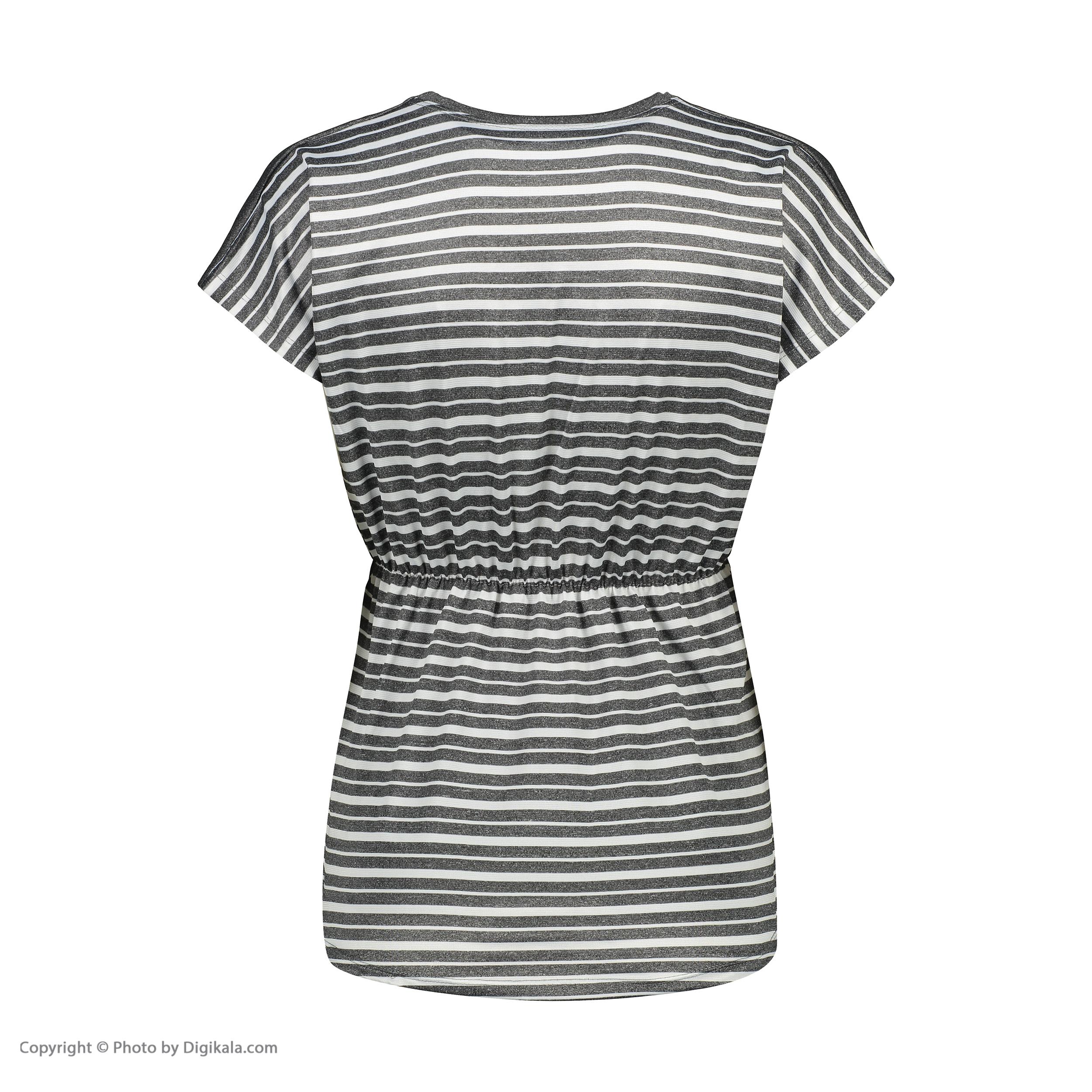 تی شرت آستین کوتاه زنانه مدل Q8