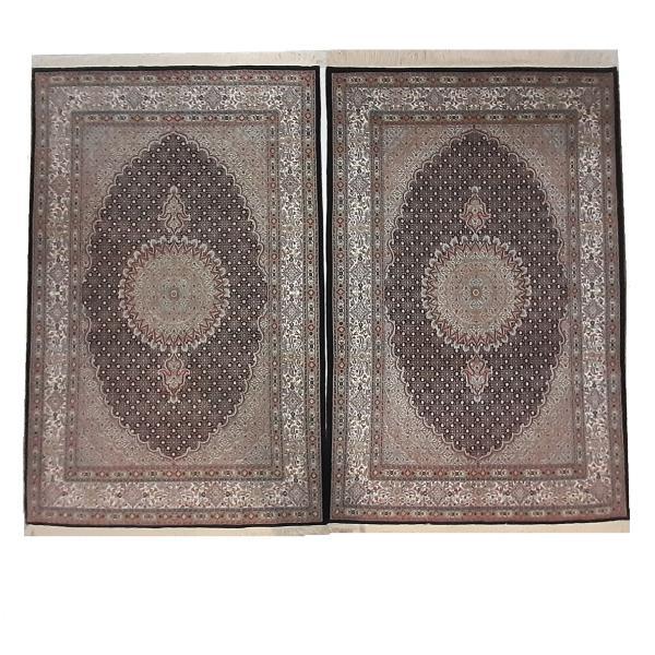 فرش دستباف شش متری طرح ماهی ترنج کد 1160 یک جفت