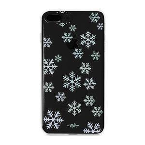 کاور  ژله ای مدلSnow flakes مناسب برای گوشی موبایل آیفون 7 پلاس و 8 پلاس