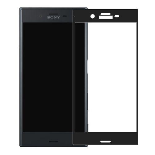 محافظ صفحه نمایش شیشه ای تمپرد مدل Full Cover مناسب برای گوشی موبایل سونی Xperia XZ