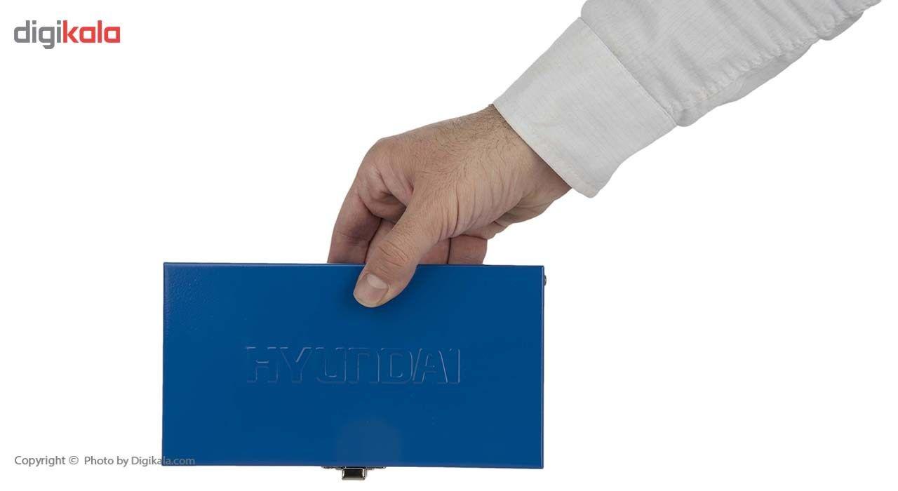 مجموعه 17 عددی سری و آچار بکس هیوندای مدل SS-1417 main 1 8