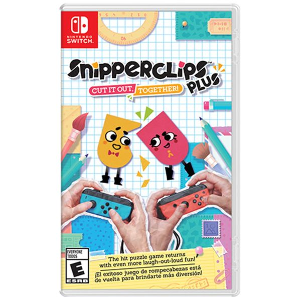 بازی SnipperClips مخصوص Nintendo Switch