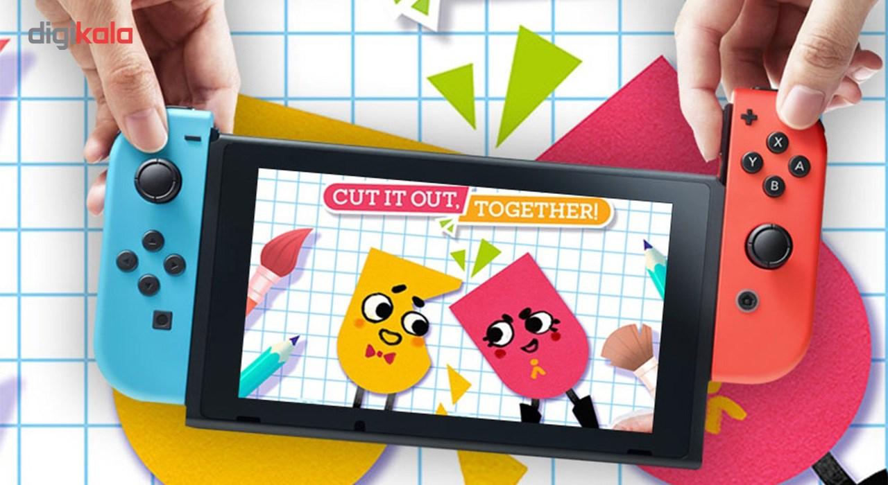 بازی SnipperClips مخصوص Nintendo Switch