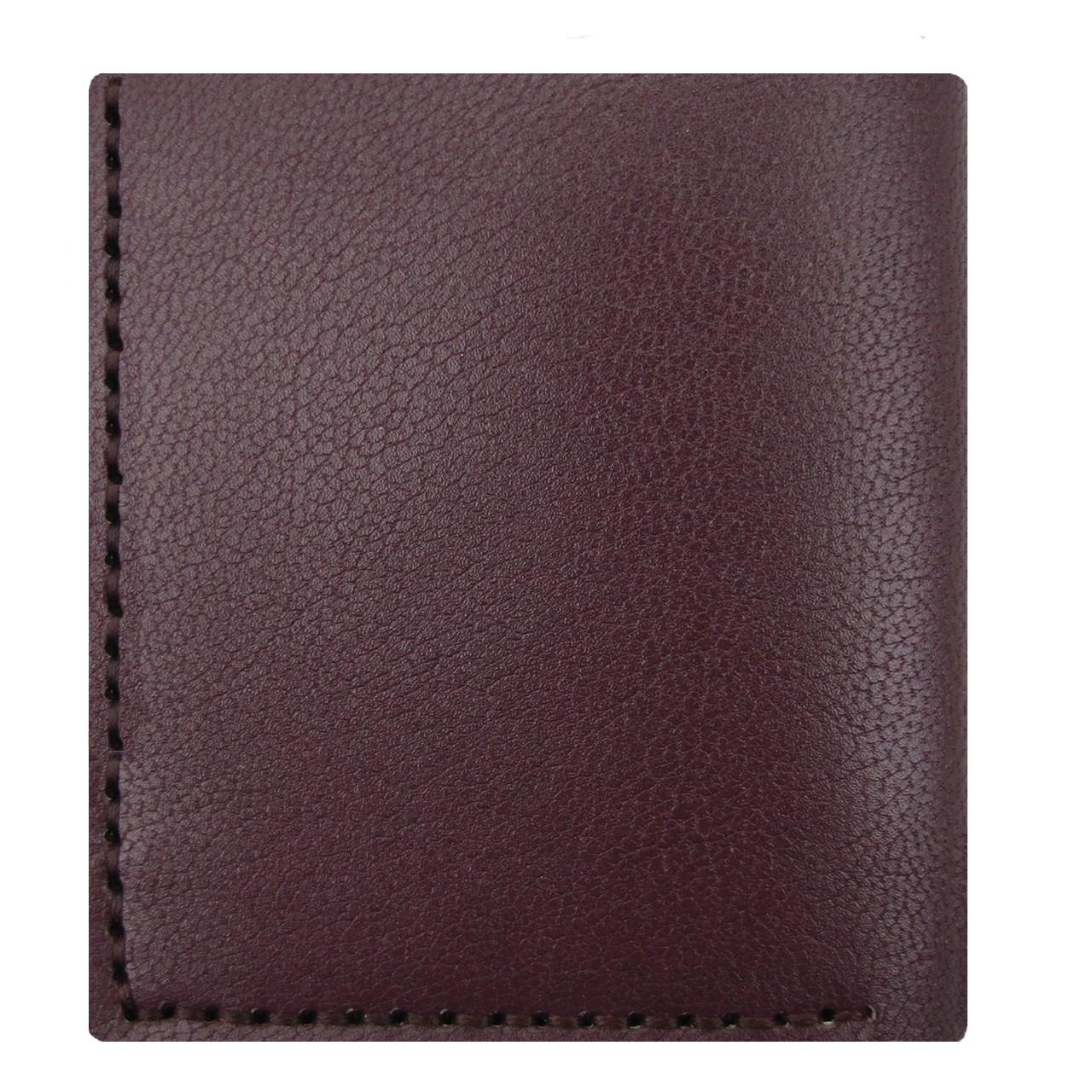 کیف پول چرم طبیعی ای دی گالری مدل X3