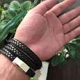 دستبند مردانه مدل He314 thumb 2