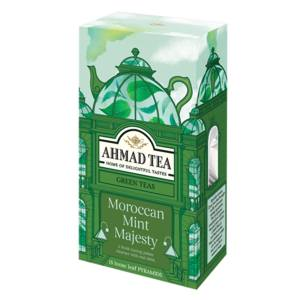 بسته دمنوش گیاهی  احمد تی مدل Moroccan Mint Majesty