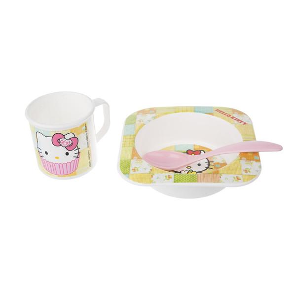 ست 3 تکه غذاخوری کودک بلو بیبی مدل Hello Kitty M0027