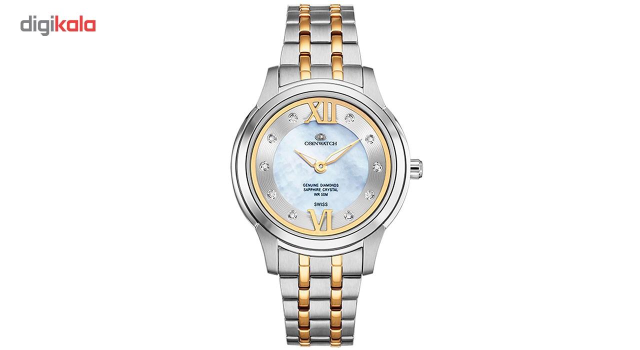 ساعت مچی عقربه ای زنانه کوین واچ مدل C141TWH