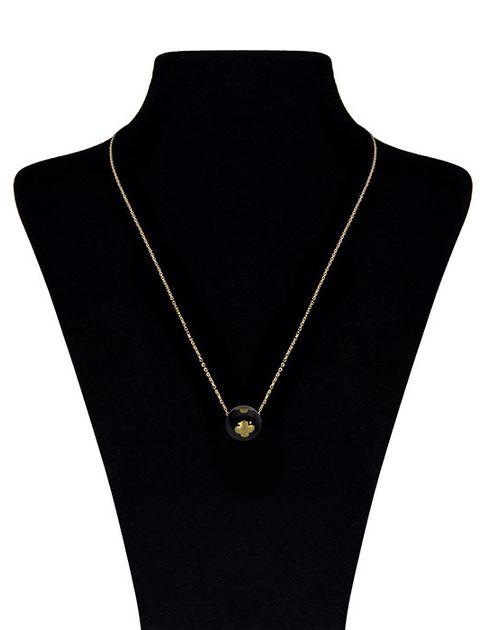 گردنبند طلا 18 عیار ماهک مدل MM0460 -  - 1