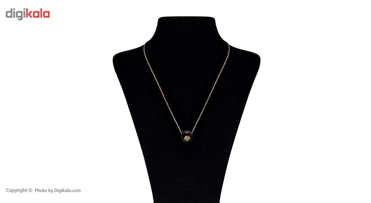 گردنبند طلا 18 عیار ماهک مدل MM0460 - مایا ماهک -  - 1