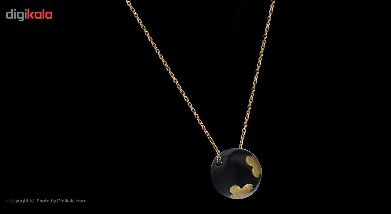 گردنبند طلا 18 عیار ماهک مدل MM0460 - مایا ماهک -  - 3