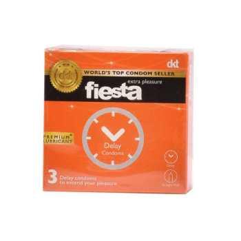کاندوم تاخیری فیستا مدل Delay بسته 3 عددی