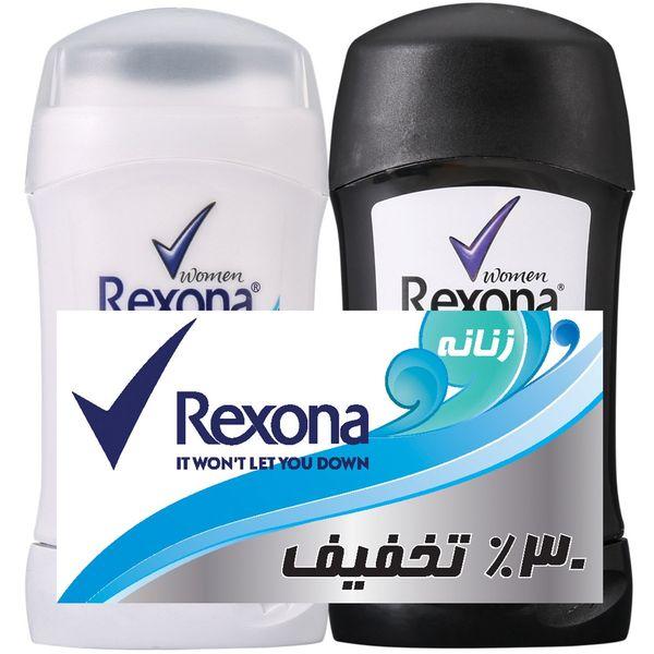 استیک ضد تعریق زنانه رکسونا Rexona مدل Cotton Dry وزن 40 گرم |