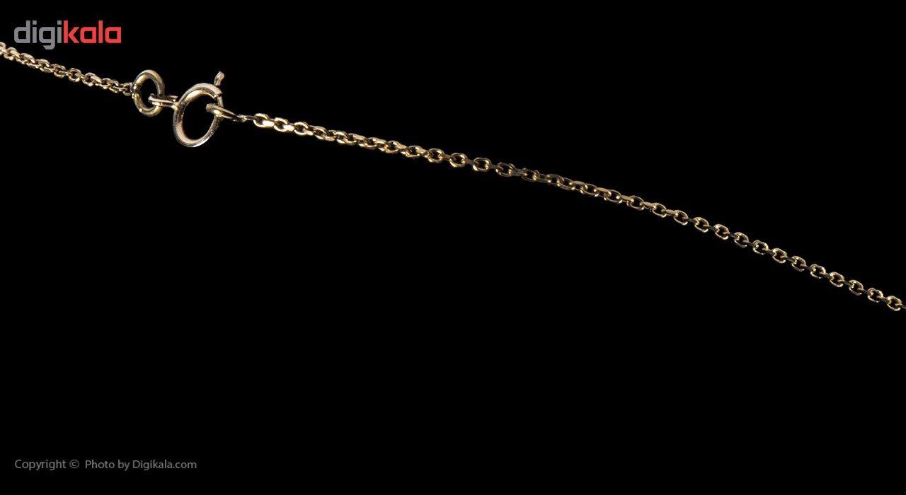 گردنبند طلا 18 عیار ماهک مدل MM0460 - مایا ماهک -  - 4