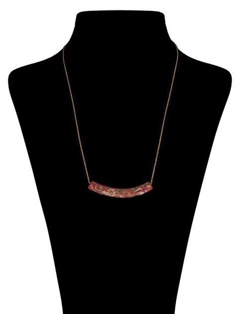 گردنبند طلا 18 عیار ماهک مدل MM0454 - مایا ماهک -  - 1