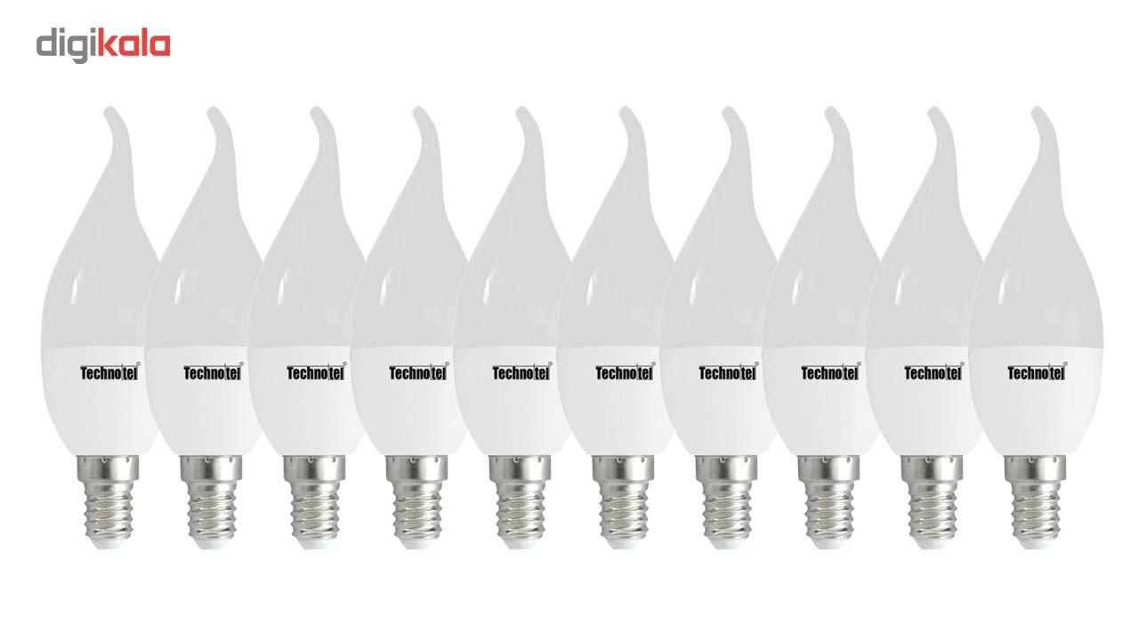 لامپ ال ای دی 6 وات تکنوتل مدل 706 پایه E14 بسته 10 عددی main 1 1