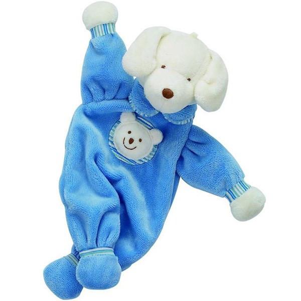عروسک سگ پارچه ای سایز 3 جلی کت کد PJS444PP