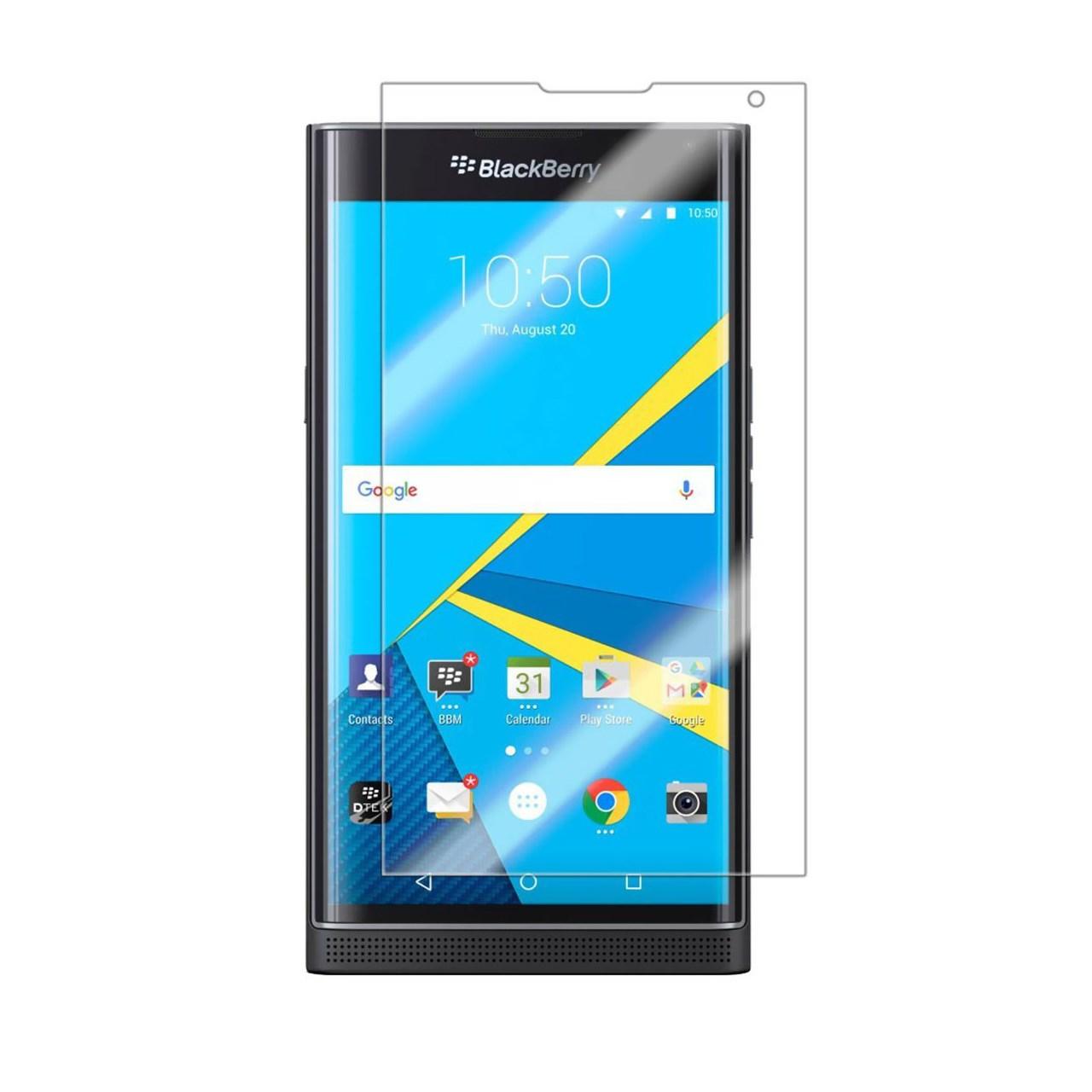 محافظ صفحه نمایش شیشه ای تمپرد مناسب برای گوشی موبایل بلک بری Priv
