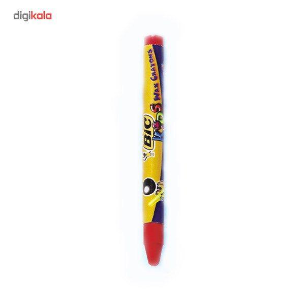 مداد شمعی بیک مدل کیدز - بسته 12 رنگ main 1 2