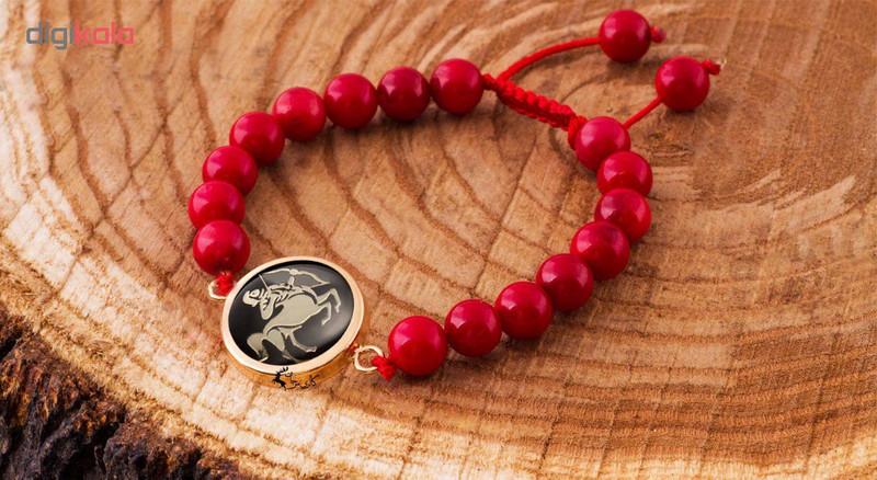 دستبند طلا 18 عیار مرجان مدل0678