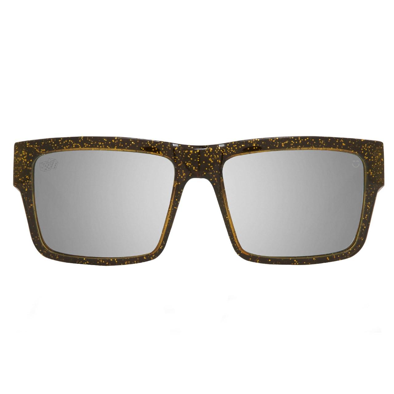 عینک آفتابی اسپای سری Montana مدل Las Vegas Black Gold Happy Silver Mirror