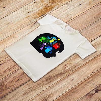تی شرت آستین کوتاه مردانه زیزیپ مدل Inside out کد 2013T