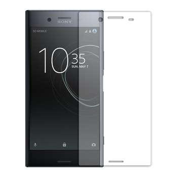 محافظ صفحه نمایش شیشه ای تمپرد مدل Full Cover مناسب برای گوشی موبایل سونی Xperia XZ Premium