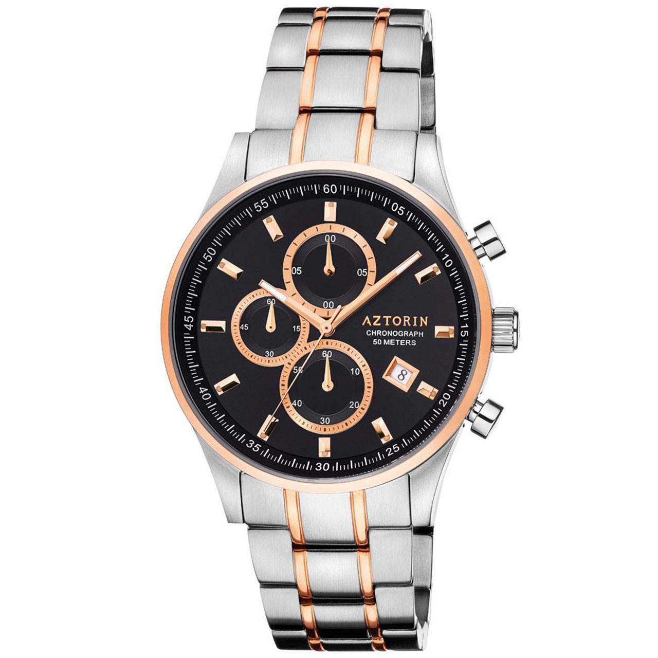 ساعت مچی عقربه ای مردانه ازتورین مدل A060.G292