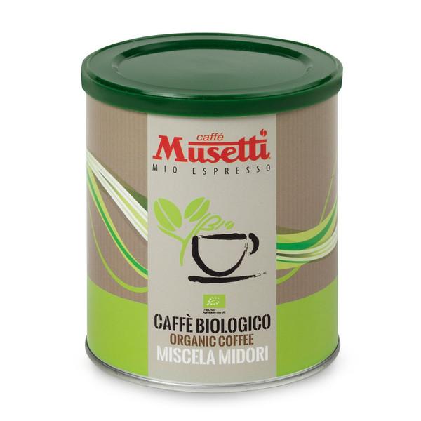قوطی قهوه موزتی مدل اورگانیک 250 گرمی