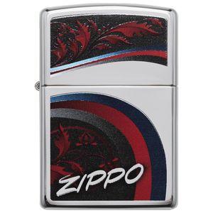 فندک زیپو مدل Satin and Ribbons کد 29415
