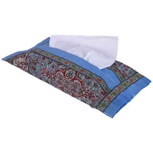 جعبه دستمال کاغذی ترمه طرح شاه عباسی مدل 00-31
