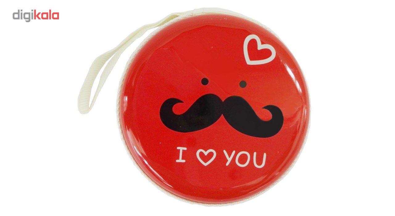 کیف هندزفری گلدونه مدل Moustache main 1 1