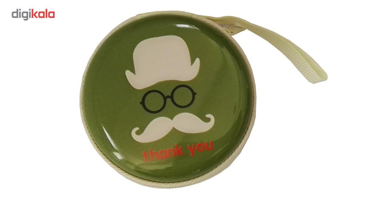کیف هندزفری گلدونه مدل Moustache main 1 4