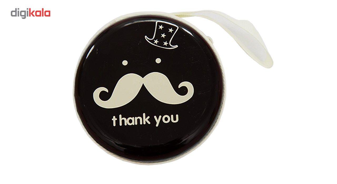 کیف هندزفری گلدونه مدل Moustache main 1 6