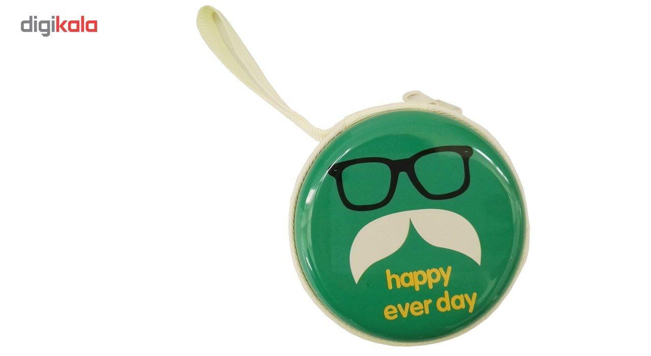 کیف هندزفری گلدونه مدل Moustache main 1 7